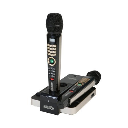JUST ARRIVED! ENTERTECH ET28KH ENGLISH VERSION ONSTAGE DUAL WIRELESS MAGIC MICROPHONE -Replaces Magic - Magic Mic