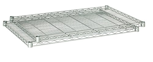 Safco Products 5287GR Industrial Wire Shelving Extra Shelf Pack 36