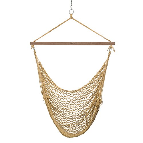 Nags Head Hammocks Tan Duracord Cumaru Sling Shot Swing
