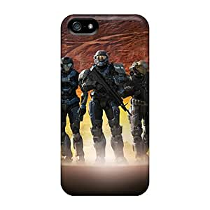 Iphone 5/5s Case Cover Skin : Premium High Quality Spartan 3s Case