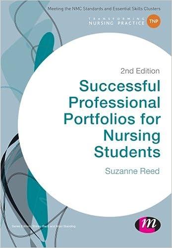Successful Professional Portfolios for Nursing Students (Transforming Nursing Practice Series)