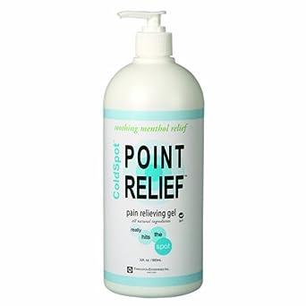 Point Relief 11-0711-1 ColdSpot Gel Pump, 32 oz Bottle
