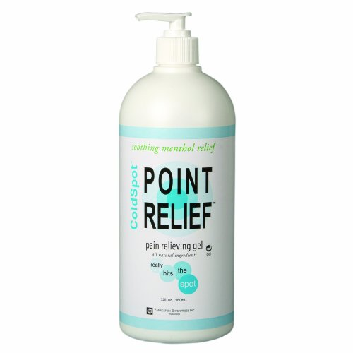 Point Relief 11-0711-1 ColdSpot Gel Pump, 32 oz (Gel 32 Oz Pump Bottle)