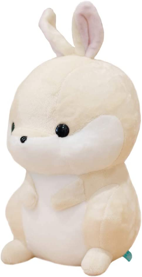 Bellzi Bunny Stuffed Animal - Soft Cute Stuffed Bunny Creamy White Rabbit Plush Toy - Plushies and Gifts for All Ages, Kids, Babies, Toddlers - Bunni