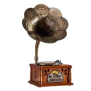 Altavoces Bluetooth Vintage Tocadiscos de vinilo Tocadiscos ...
