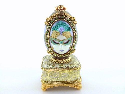 【期間限定】 Real Masquerade Real Duck Egg Masquerade B00FCGWW30 Bejeweled記念品音楽ボックスRetired 2005 B00FCGWW30, タンノチョウ:1f110862 --- arcego.dominiotemporario.com