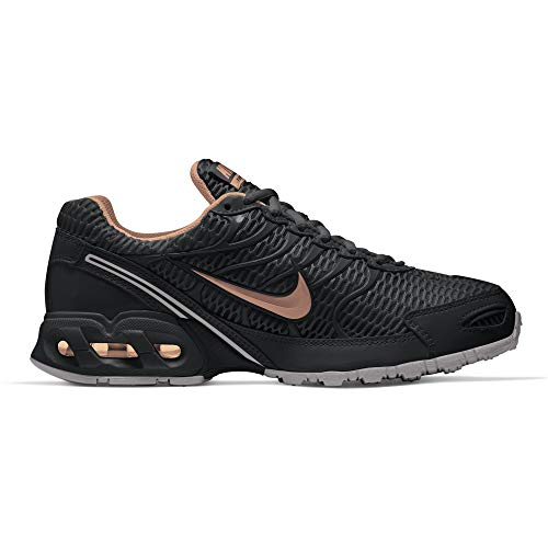NIKE Women's Air Max Torch 4 Running Shoe Black/Metallic Silver/Pink Flash Size 8.5 M US