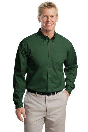 Green Button Down Collar - 8