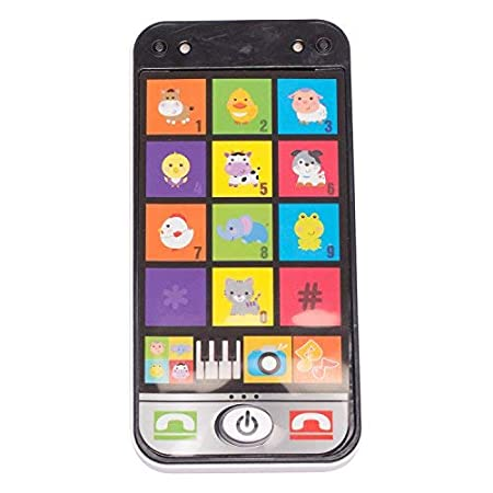 Baybee Music Smart Mobile Phone |Toddler Toys-for Kids Designed Learning Toys | Cartoon Music Phone-The Best Educational Toy Gift-Baby Cell Phone-Toys for 1 Year Old Girl