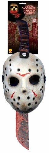 Jason Voorhees Mask & Machete Set -