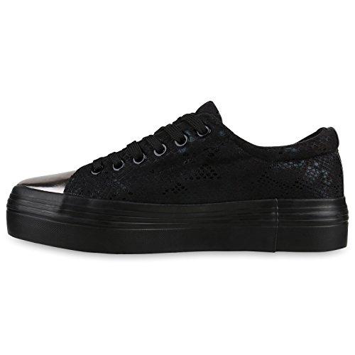 Stiefelparadies - zapatos de tacón Mujer negro