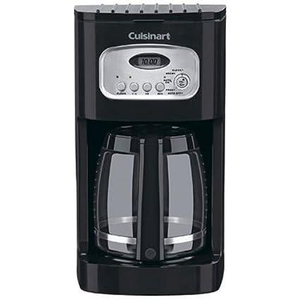Amazoncom Cuisinart Dcc 1100bk 12 Cup Programmable Coffeemaker