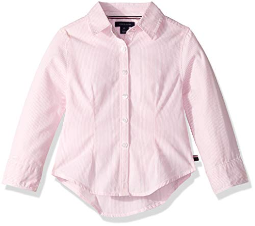 Tommy Hilfiger Baby Girls' Ithica Stripe Shirt, Light Pink, 18M