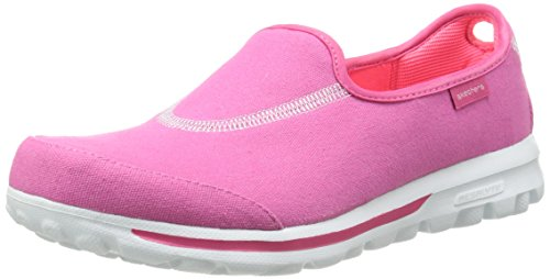 Skechers Go Walk 2 Spark Women's Walking Shoes Pink (Hot Pink) E9QyECZ