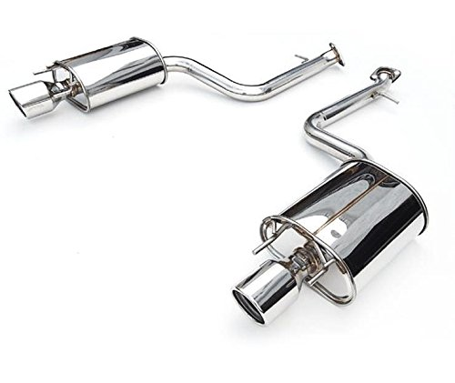 Invidia 97-00 Prelude Q300 Titanium Tip Cat-back Exhaust Fits SH Model ONLY (hs97hp1g3t)