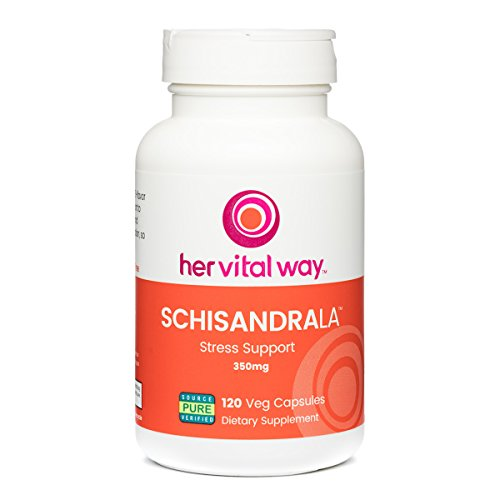 SchisandraLa Stress and Adrenal Health Support, Schisandra Berry 3:1