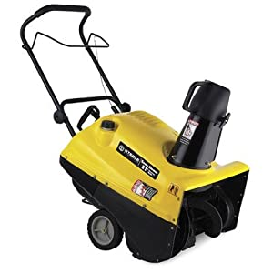 B0077D54FO_Single Stage Gas Powered Electric Snow Blower