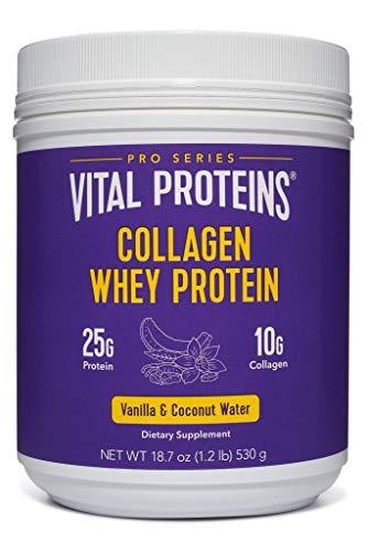 Vital Proteins Pasture-Raised, Grass-Fed Collagen Whey (Vanilla Coconut)