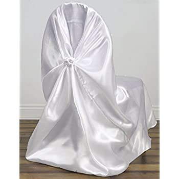 amazon com mds pack of 100 satin universal chair cover pillowcase