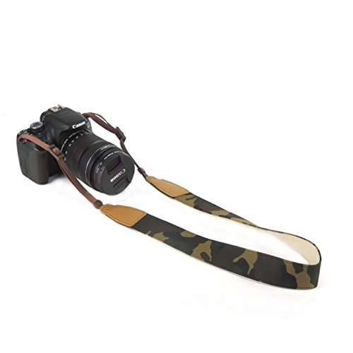 Mavota Camera Shoulder Neck Strap Camera Belt for Canon Nikon Olympus Panasonic Pentax Sony DSLR Digital Cameras Camouflage