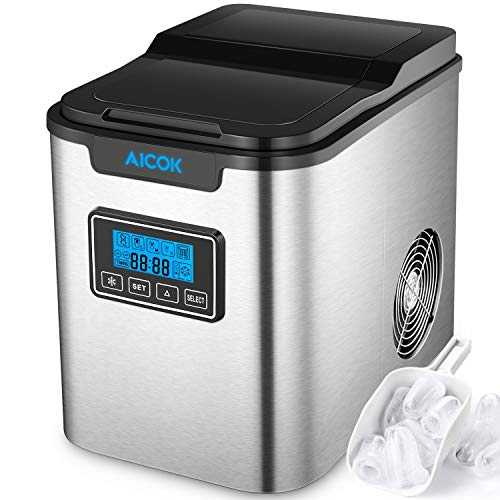 Upgraded Aicok Portable Digital Ice Maker Machine |...