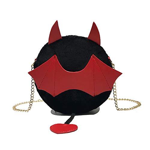 da da Black Diagonal Rawdah Package piccola Borsa Borsa Borsa a spalla donna bag Portable Ins Wild fuoco Super a Plush Fashion spalla 77xfICw4q