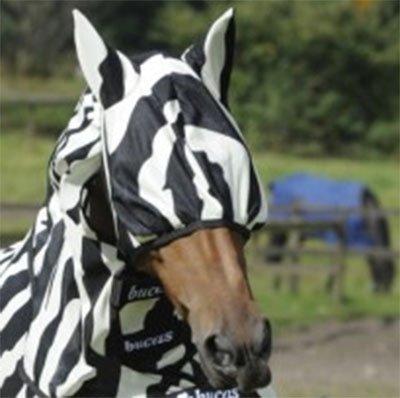 Bucas Zebra Fly Mask X-Large
