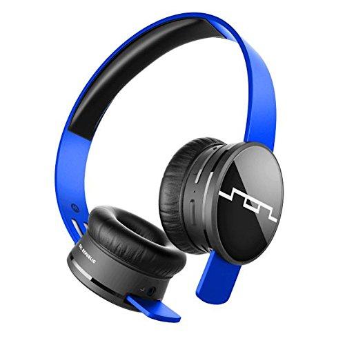 Sol Republic Wireless Head Phones Tracks Air in Blue