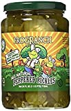 Frog Ranch Zesty Bread & Butter All Natural Peppered Pickles 24 oz. (Pack of 2)