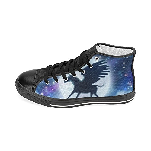 Custom Multicoloured13 Classic Womens Story Canvas Shoes Bee Sneaker High D Top Fashion 5qPfx