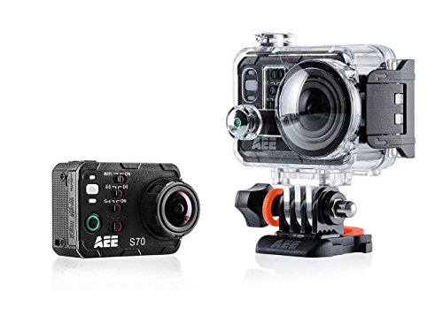 AEE Technology Waterproof Camera with 10x 2-Inch LCD