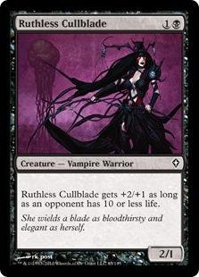 Magic: the Gathering - Ruthless Cullblade - Worldwake - Foil