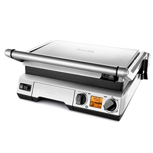 Breville the Smart Grill BGR820XL 1800-Watt LCD High-Sear Indoor Electric Grill