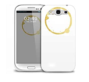 tea stain Samsung Galaxy S3 GS3 protective phone case