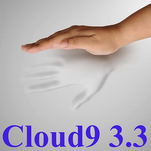 3.3 Cloud9 King 3 Inch 100 Visco Elastic Memory Foam Mattress Topper