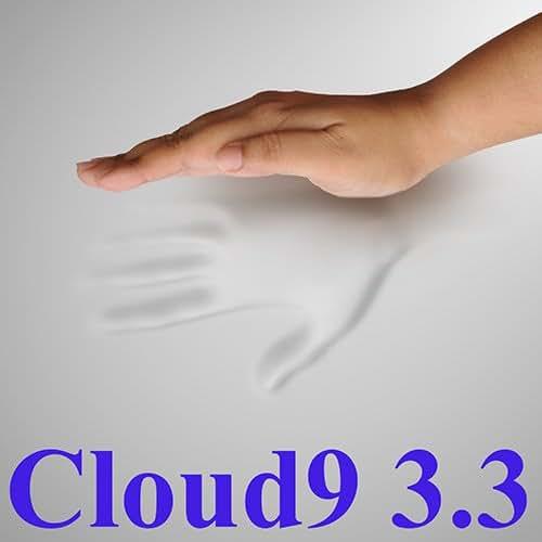 3.3 Cloud9 Twin XL 3 Inch 100% Visco Elastic Memory Foam Mattress Topper