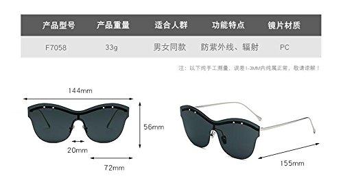 retro en Gradient rond du inspirées Lennon lunettes polarisées soleil style Poudre vintage de cercle métallique de qYwwaz