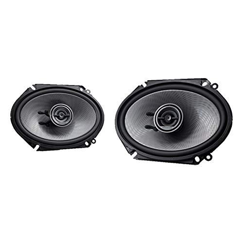 Kenwood KFC-D681C 6x8 Dynamic D-Series Custom Fit 2-Way 360W Max Power Speaker System (Kenwood 6x8 Speakers)
