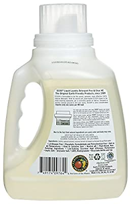 Earth Friendly Products Liquid Laundry Detergent - 50 oz - 2x Concentrated - 2 pk