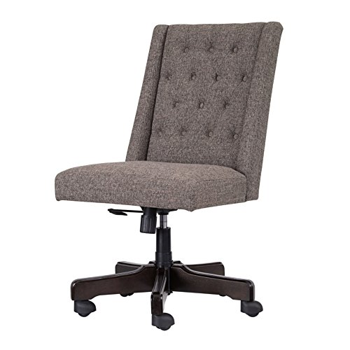 Ashley Furniture Signature Design - Adjustable Swivel Office Chair - Manual Tilt - Casual - -