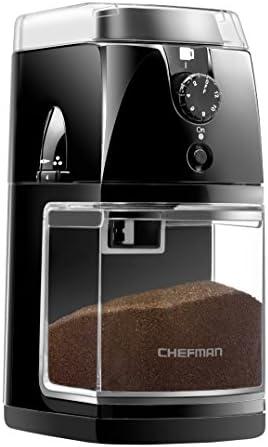 Chefman Coffee Grinder Electric Burr Mil