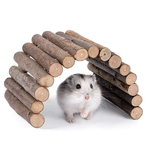 Niteangel Wooden Ladder Bridge, Hamster Mouse Rat