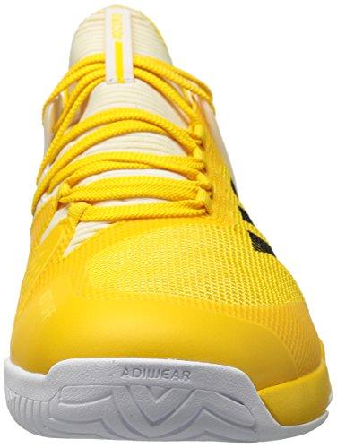 Adidas Performance Hommes Adizero Ubersonic 2 Équipement De Tennis-chaussures Jaune / Noir / Blanc