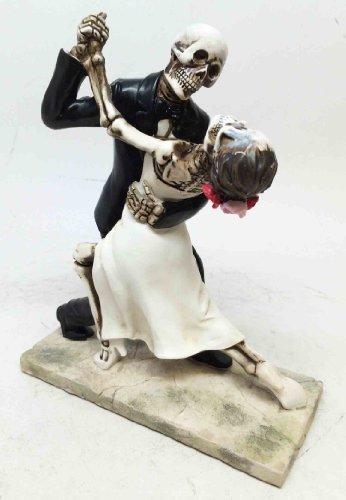LOVE NEVER DIES BRIDE AND GROOM WEDDING DANCE STATUE SCULPTURE ETERNAL - And Groom Bride Wedding Dance