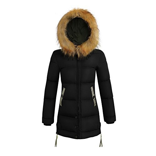 Used, MOMKER Women's Down Jacket Winter Long Parka Coat with for sale  Delivered anywhere in USA