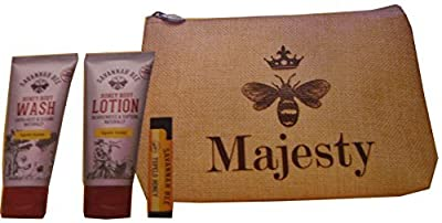 Savannah Bee Tupelo Honey Travel Gift Set Majesty