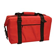 Brand New Norchill 48 Can Soft Sided Hot/Cold Cooler Bag - Red