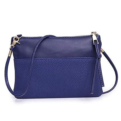 47259c65a804 Amazon.com: Lannmart Women Fashion Shoulder Bag Large Ladies Leather ...
