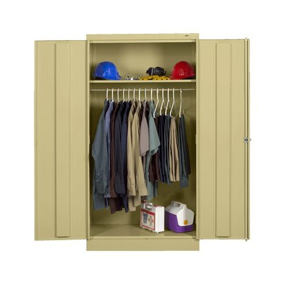 2 Door Storage Cabinet Color: Sand