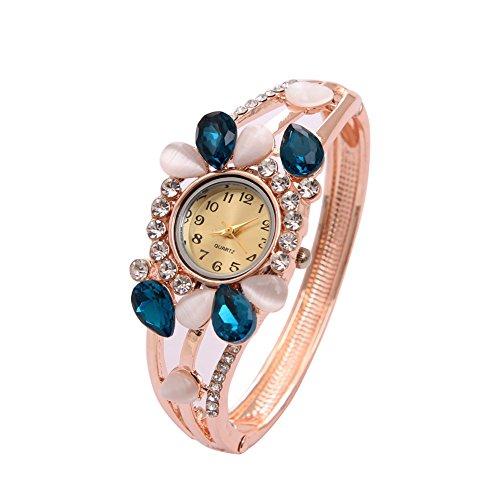 Bangle Watch for Women Butterfly Crystal Dress Crystal wrist Watch